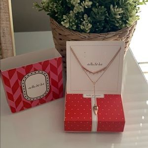 Rose Gold Stella and Dot